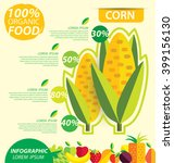 corn. infographic template.... | Shutterstock .eps vector #399156130