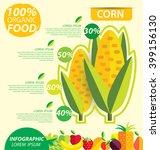 corn. infographic template.... | Shutterstock .eps vector #399156130
