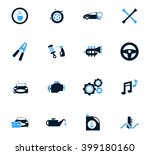 car shop  icon set for web... | Shutterstock .eps vector #399180160