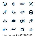 car shop  icon set for web... | Shutterstock .eps vector #399180160
