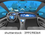 automobile cockpit  various... | Shutterstock .eps vector #399198364