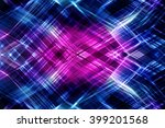 abstract multicolored fractal...   Shutterstock . vector #399201568