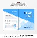 business brochure  earth. | Shutterstock .eps vector #399217078