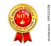 premium quality  because we... | Shutterstock .eps vector #399231538
