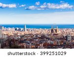 Barcelona Skyline  Spain