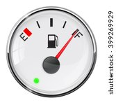 fuel gauge. full tank. vector... | Shutterstock .eps vector #399269929