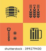 vector illustration icon set of ... | Shutterstock .eps vector #399279430