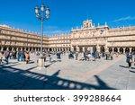 salamanca  spain   february 20  ... | Shutterstock . vector #399288664