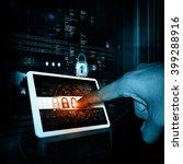 internet security   Shutterstock . vector #399288916