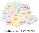 Parana Administrative Map ...