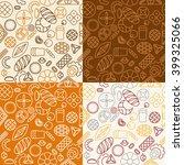vector set patterns in trendy... | Shutterstock .eps vector #399325066