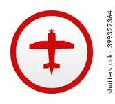 aircraft icon | Shutterstock .eps vector #399327364