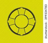 beach icon design  | Shutterstock .eps vector #399334783