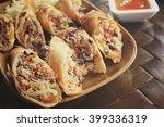 egg roll | Shutterstock . vector #399336319