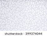white ceramic texture and... | Shutterstock . vector #399374044