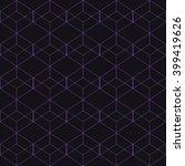 vector seamless pattern. modern ... | Shutterstock .eps vector #399419626