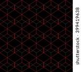 vector seamless pattern. modern ... | Shutterstock .eps vector #399419638
