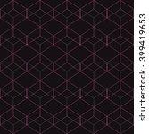 vector seamless pattern. modern ... | Shutterstock .eps vector #399419653
