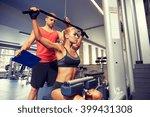 sport  fitness  teamwork and... | Shutterstock . vector #399431308