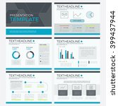 template business  powerpoint... | Shutterstock .eps vector #399437944
