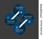 business infographics vector... | Shutterstock .eps vector #399488908