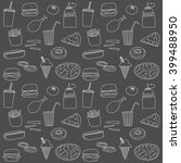 fast food doodle icon... | Shutterstock .eps vector #399488950