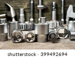 hand tools kit | Shutterstock . vector #399492694