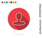 vector illustration of user icon