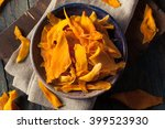 raw organic dried mangos in a... | Shutterstock . vector #399523930