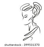 vector  stylish  original hand ... | Shutterstock .eps vector #399531370