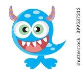 monster vector illustration   Shutterstock .eps vector #399537313