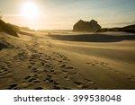 sand dune landscape at... | Shutterstock . vector #399538048