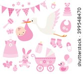 vector illustration for baby... | Shutterstock .eps vector #399548470