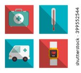 online medical design  | Shutterstock .eps vector #399552544