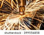 spot welding industrial... | Shutterstock . vector #399556858