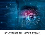 scanning for personality... | Shutterstock . vector #399559534