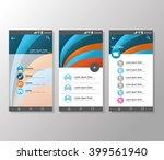 geometric background design ...   Shutterstock .eps vector #399561940