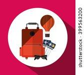 travel icon design  vector... | Shutterstock .eps vector #399563200