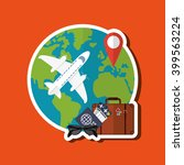 travel icon design  vector... | Shutterstock .eps vector #399563224