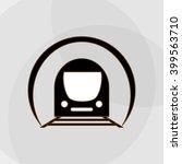 transportation icon design ... | Shutterstock .eps vector #399563710
