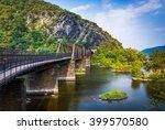 bridge over the potomac river... | Shutterstock . vector #399570580