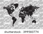 world map background in... | Shutterstock .eps vector #399583774