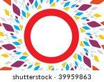 abstract mosaic vector...   Shutterstock .eps vector #39959863
