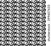 vector modern seamless geometry ... | Shutterstock .eps vector #399607633