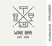 label for wine  winery or store.... | Shutterstock .eps vector #399620809
