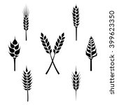 types of grains  cereals icons  ... | Shutterstock .eps vector #399623350