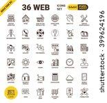 web universal pixel perfect... | Shutterstock .eps vector #399624196