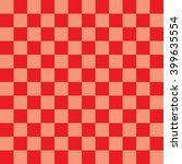 digital paper  red checkerboard ... | Shutterstock . vector #399635554