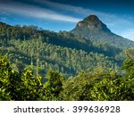Small photo of Great Adam's Peak in Sri Lanka early in the morning