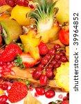 fresh fruits | Shutterstock . vector #39964852